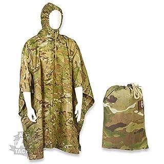 Alpha Tactical Hooded WaterProof Poncho MTP/Mulitcam