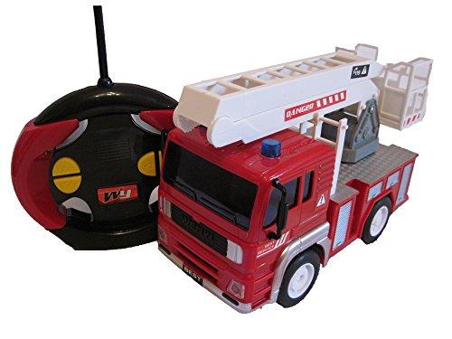 RC Auto kaufen Feuerwehr Bild 3: RC Feuerwehrauto ferngesteuertes Spielzeug Feuerwehr Auto Ferngesteuert NEU (Feuerwehrauto mit Hubleiter)*