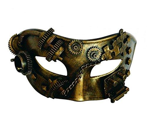 Dream Erwachsene Steam Kostüm Für - Dark Dreams Gothic Steampunk Maske Augenmaske Android Roboter Cyber Sci Fi