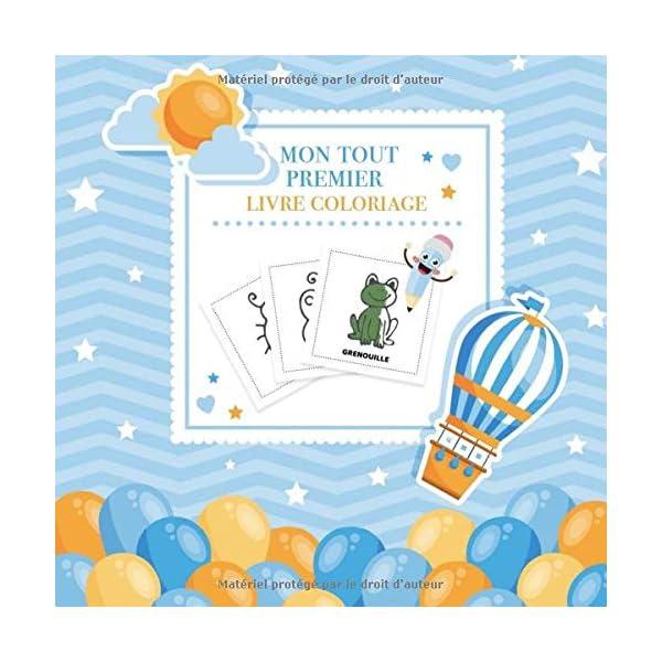 Mon Tout Premier Livre Coloriage Cahier De Coloriage Avec Mes Premiers Mots Livre Enfant 2 Ans Un Livre De Coloriage Pour Les Tout Petits