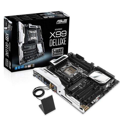 ASUS X99-Deluxe - Placa base (Intel LGA2011, X99, ATX)