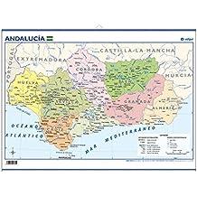 Andalucía, político: Mapas Mini-murales ()