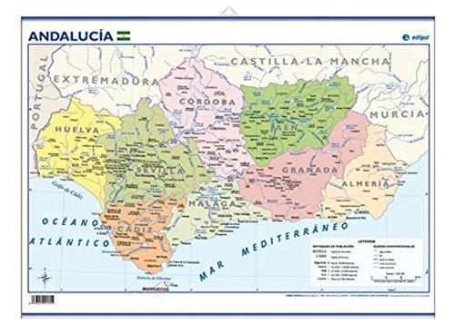 Mapa de carreteras de Andaluca Escala 1600000 Mapas