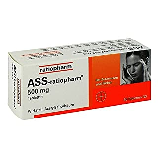 ASS-ratiopharm 500mg 50 stk