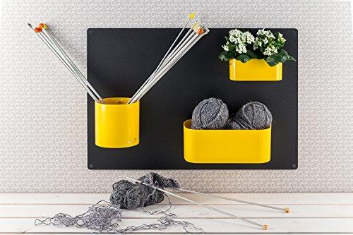 confronta il prezzo KalaMitica Lavagna Magnetica, in Acciaio scrivibile con gessetti, 56x38x0,12 cm, Antracite miglior prezzo