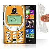 Stuff4® Gel TPU Hülle/Hülle für Nokia X2 Dual SIM/Oranges Nokia 3310 Muster/Vintage Handys Kollektion