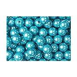 Kunstperle Perlen D 10mm D 1cm Hochzeit 100g ca. 115 Stück türkis