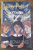 harry potter et l ordre du ph?nix rowling jk r?f 28084