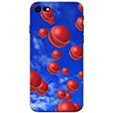 Es regnet Cricketbälle Hartschalenhülle Telefonhülle zum Aufstecken für Apple iPhone 8