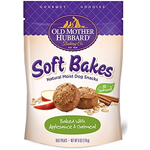 Old Mother Hubbard Soft Bakes All Natural Applesauce Oatmeal Pet Dog Treats 6z