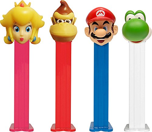 super-mario-pez-dispenser-with-two-refils-sold-singly-one-random-character-supplied-by-party2u