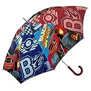 Preparatevi per l'inverno con questo grande ombrello della vostra serie preferita:Blaze and The Monsters Machine Ombrello diametro: 45 cm.