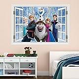 Best Disney Hair Dryers - Disney Frozen Window Full Multi Colour Wall Art Review