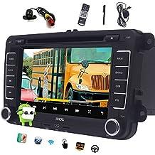 EINCAR Doble DIN Android 6.0 Coches Reproductor de DVD para VW Passat Golf Quad Core 7 Touch Screen EST¨¦reo navegaci¨®n del GPS en el Tablero del ...