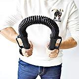 Shocly Power Twister Ressort Ajustable Musculation Stretch Flexible Bar Appareils Bras 30、40、50 Kg