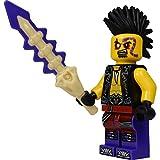 LEGO Ninjago: Minifigur Eyezor (Gefolgsmann von Chen) mit Knochenschwert NEUHEIT 2015