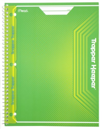 mead-trapper-keeper-snapper-trapper-spiral-notebook-1-subject-wide-ruled-green-72698-by-mead