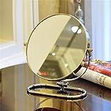 STAZSX 6 fois de bureau 81 cm miroir miroir portable duplex jolie princesse continental miroir , miroir portable HD