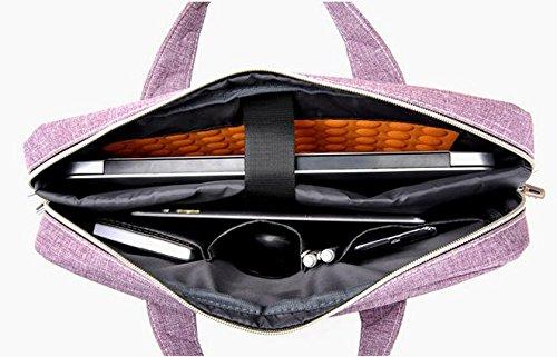 Z&HXLaptop-Tasche Laptop-Tasche und weise beil?ufige wasserdichte Multifunktions lovely powder