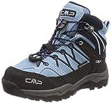 CMP Rigel Mid WP Unisex-Kinder Trekking-& Wanderschuhe, Türkis (Glass-B.Blue), 31 EU