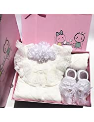 SHISHANG Set de cadeaux pour bébés Boîte cadeau Boy Girl Cadeaux pour bébés pour 0-12 mois Nouveau-né 93% Coton + 7% Spandex Four Seasons Gift Bag , A