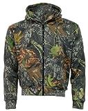Mens-Camouflage-MOSS-Camo-Hoodie-Hooded-Zip-Zipper-Top-Jacket-Hunting-Shooting-Fishing