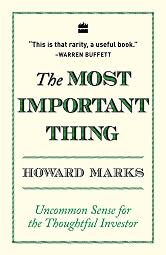 The most important thing por Howard Marks