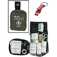 First Aid Kit Erste Hilfe Set medium oliv + AOS-Outdoor® Flaschenöffner preisvergleich bei billige-tabletten.eu