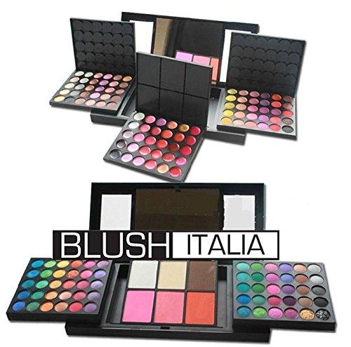 Palette Blush Italie 156 couleurs 120 fard 30 rouges à lèvres 2 Ciprie 1 Terre 3 Blush