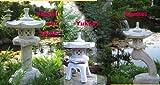 Rankei + Yukimi + Yukimi auf Säule  japanische Steinlaternen