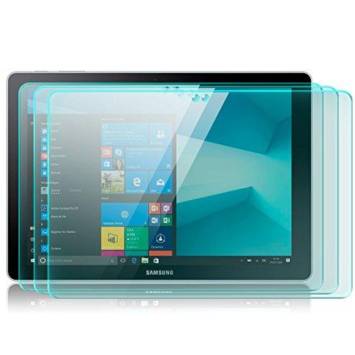 zanasta 3X Bildschirmschutz Glas kompatibel mit Samsung Galaxy Book 10.6