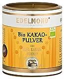 Geröstetes Bio Kakaopulver. 200g von Edelmond. Höchste Güteklasse, pur + entölt als hochwertige Zutat. 100% ohne Zucker