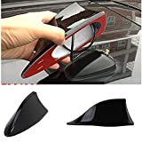 #6: Laxon - Car Shark Fin Roof Antenna Radio FM/AM Car Accessories Decorate Black For Hyundai I-20 Sports