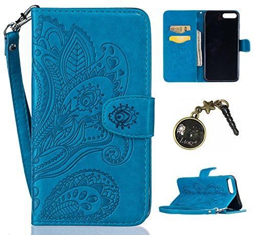 PU Silikon Schutzhülle Handyhülle Painted pc case cover hülle Handy-Fall-Haut Shell Abdeckungen für Apple iPhone 7 Plus (5.5 Zoll) +Staubstecker (2HF) 6