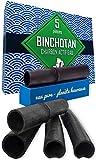 Air Remedy Bag Binchotan Charbon Actif Eau, Baton de Charbon x 5, Profitez d'une Eau Pure sans Bouteilles en Plastique - filtrer l'eau