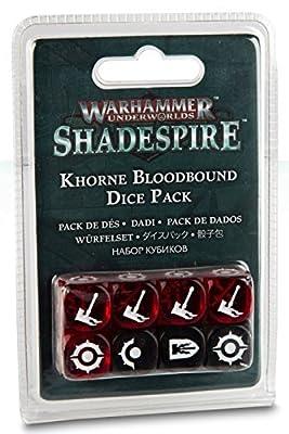 Jeux Atelier 99220701001WH Underworlds?: Khorne Bloodbound dés de table et de jeux miniature