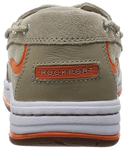 Rockport 3-eye Boat Herren Bootsschuhe Grau - Gris (Rocksand)