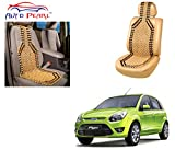 #2: Auto Pearl - Premium Quality Car Wooden Bead Seat Cover For - Ford Figo Type-1