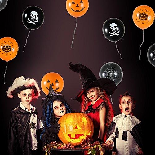 Aneco-32-piezas-Halloween-globos-12-pulgadas-de-Halloween-partido-globos-para-la-decoracin-de-Halloween-Party