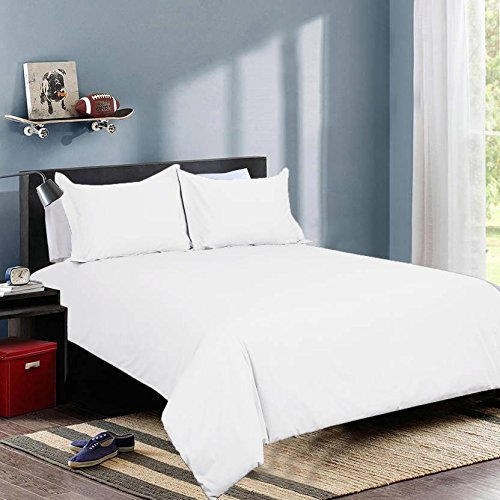 Ivaan 100 % Cotton Premium Double Bedsheet with 2 Pillow Covers -...