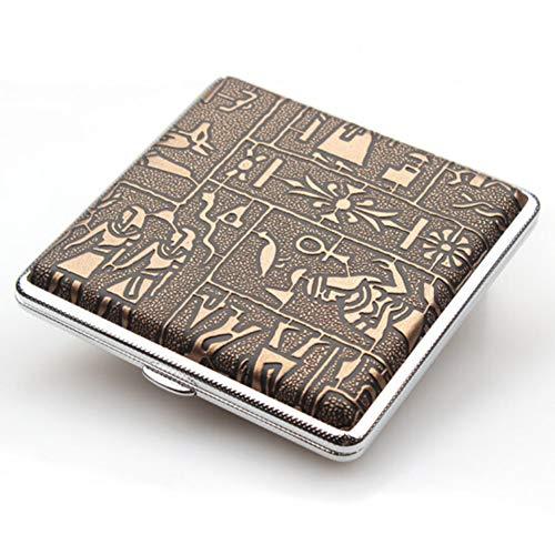 Material: cueroTamaño: los 9.7 * 8.7 * 2.1 cmCapacidad: puede sostener 20 cigarrillosEmbalaje: caja de regalo exquisita que empaqueta + pitillera * 1