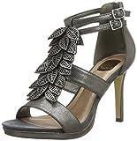 BULLBOXER Damen Sandal Heel Pumps, Grau (Gunn), 39 EU