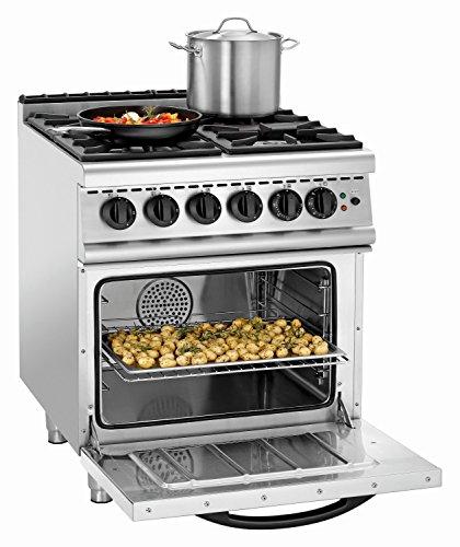Cocina 4fuegos GHU 4110