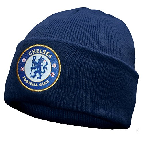 b6420775b3c Brand New Official Football Team Cuff Knitted Hats (Chelsea FC (Navy ...