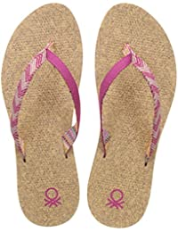 United Colors Of Benetton Women's Flip-Flops And House Slippers - B01N6WRDKC