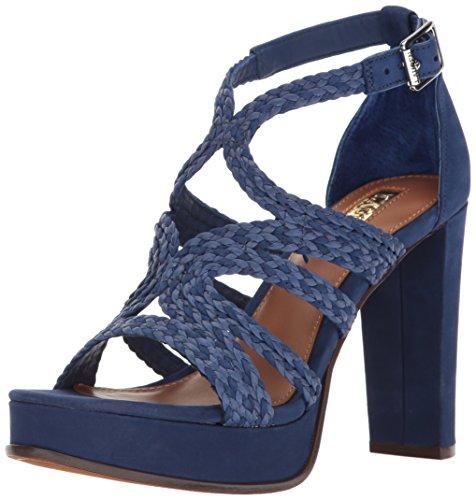 Ralph Lauren Femmes Ralph by Sandales Compensées Couleur Bleu Blue Taille 35.5 E