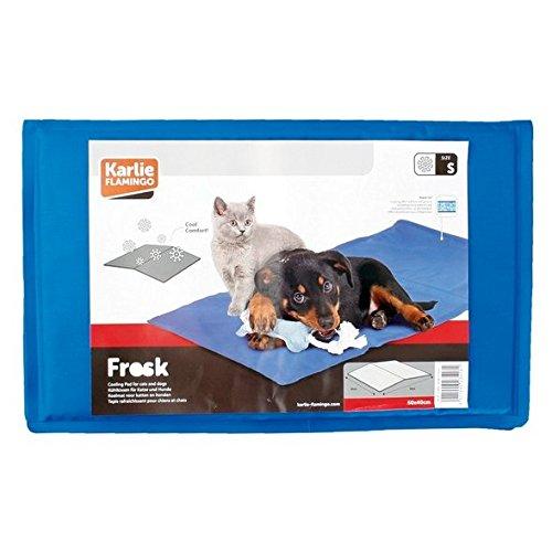 Hunde Kühlmatte Kühlkissen Blau Liegematte Hundematte Matte Hunde Matratze Kühldecke Blau -Kühlung ohne Kühlschrank- - 5
