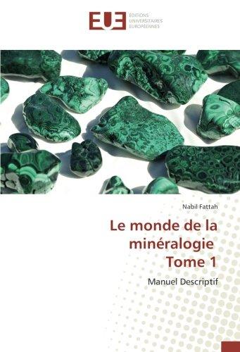 Le monde de la minéralogie Tome 1: Manuel Descriptif par Nabil Fattah