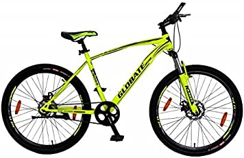 Kross Encod 27.5T 21 Speed Mountain Bike Bicycle, 69.85cm (Matte Yellow, Encod-27.5T-21S-MatteYellow)