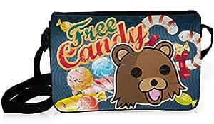 Sac à bandoulière Pedobear, besace messenger free candy - Kanto Factory -